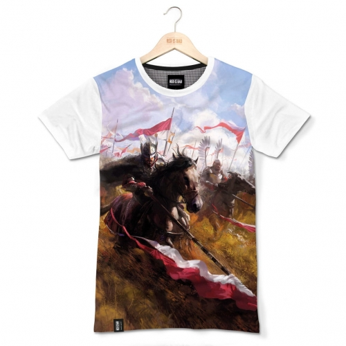 Hussars. Charge - sublimation print