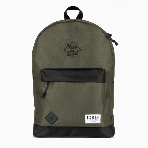 Red is Bad backpack - olive