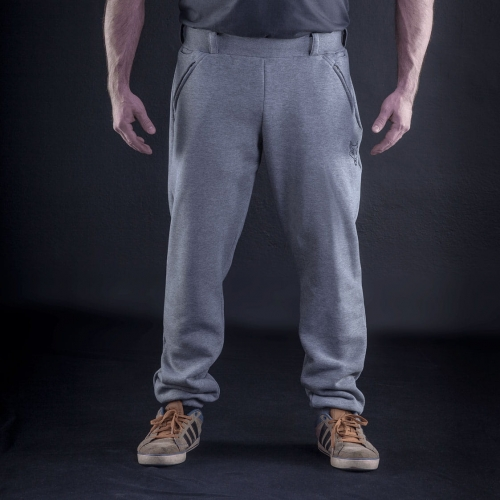 Tactical sweatpants - SYMBO - gray