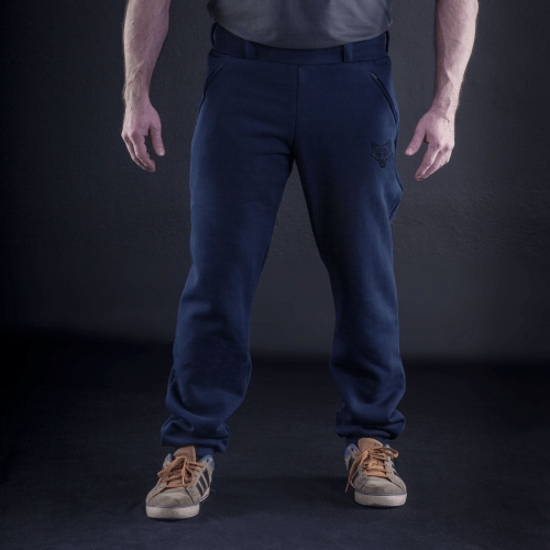 Tactical sweatpants - SYMBO - navy blue