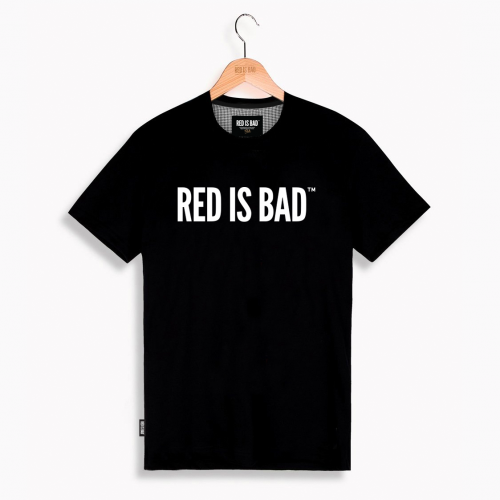 Red is Bad klasyk - czarny